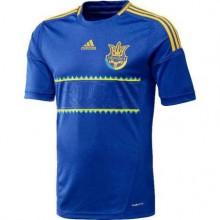 Футболка Adidas Сборной Украины по футболу 2012-2015 (синяя)