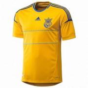 Футболка Adidas Сборной Украины по футболу 2012-2015 (желтая)