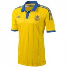 Футболка Adidas Сборной Украины по футболу (желтая)