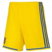 Шорты игровые Adidas Сборной Украины по футболу FFU (желтые)