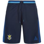 Шорты игровые Adidas Сборной Украины по футболу 2016-2018 (темно-синие)