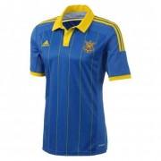 Футболка Adidas Сборной Украины по футболу (синяя)