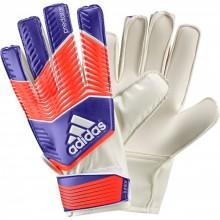 Вратарские перчатки Adidas Predator Neon Red (детский, размер - 3)