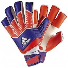 Вратарские перчатки Adidas Predator Zones Fingersave Allround Neon Red
