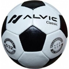 Мяч для футбола Alvic Classic (натуральная кожа)