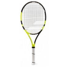 Детская теннисная ракетка Babolat Pure aero junior 26 black/yellow (140175/142)