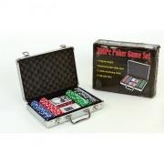 Набор для покера - на 200 фишек без номинала (в алюминиевом кейсе)