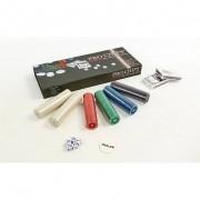 Покерный набор - 300 фишек с номиналом (в картонной коробке)