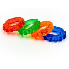 Эспандер кистевой - Кольцо фигурный (1шт) FI-4386 (гелевый, d-4,7x8,5см, в уп. 10шт, цена за 1шт)