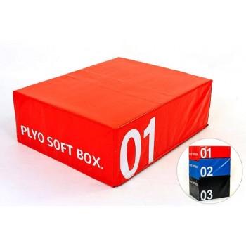 Бокс плиометрический мягкий (1шт) FI-5334-1 SOFT PLYOMETRIC BOXES
