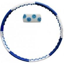 Обруч массажный Hula Hoop DYNAMIC HOOP (1,8кг, пластик, 8 секций, d-100см, с магнитами)