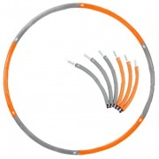 Обруч утяжеленный Hula Hoop PS (1,36-2,26кг, пластик,неопрен,металл,6 секций,6 утяжел,d-90см)