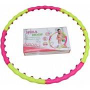 Обруч массажный Hula Hoop SPORT HOOP (1,5кг, пластик, 8 секций, d-100см, с магнитами)