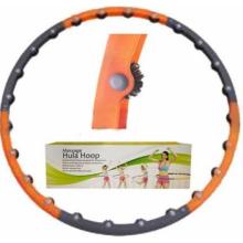 Обруч массажный Hula Hoop MASSAGE HOOP (1,5кг, пластик, 6 секций, d-100см)
