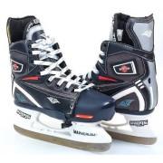 Коньки раздвижные детские хоккейные (размеры 32-35, лезвие - сталь)