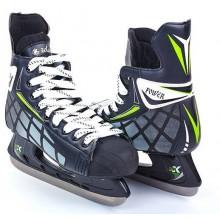 Коньки хоккейные PVC (р-р 39-45, лезвие-сталь)