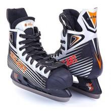Коньки хоккейные PVC (р-р 41-45, лезвие-сталь)