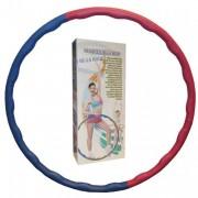 Обруч массажный Hula Hoop WAVE HU-LA (1,2 кг, пластик, неопрен, 6 секций, d-100 см)