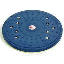 Диск здоровья массажный с магнитами Грация FI-4589 (29 см, пластик)