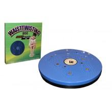 Диск здоровья с магнитами и массажером рефлекторных зон на стопах Грация (25 см, пластик)