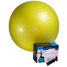 Мяч гимнастический 75 см. PowerPlay 4001 (+насос)