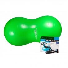 Мяч для фитнеса Peanut Ball PowerPlay 4004 (100х50 см. + насос)