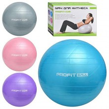 Мяч для фитнеса, гимнастический 85 см. Profitball  (M 0278)