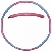 Обруч массажный Hula Hoop FITNESS RING (1,2кг, пластик, неопрен, 8 секций, d-95см)