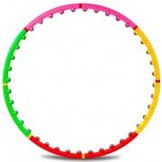 Обруч массажный Hop-Sport c 40 шариками (95 см.)