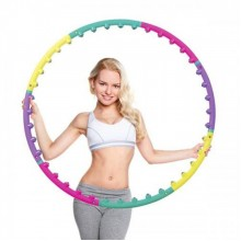 Обруч массажный Hop-Sport c шариками (105 см.)
