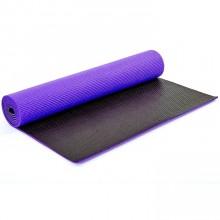 Коврик для фитнеса Yoga mat PVC 6мм двухслойный FI-5558-2 (1,73м x 0,61м x 6мм)