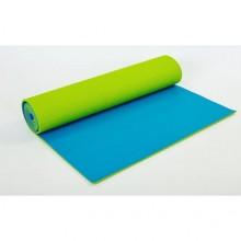 Коврик для фитнеса Yoga mat PVC 6мм двухслойный FI-5558-3 (1,73м x 0,61м x 6мм)