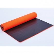 Коврик для фитнеса Yoga mat PVC 6мм двухслойный FI-5558-4 (1,73м x 0,61м x 6мм)