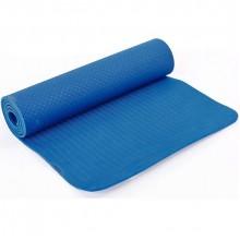 Коврик для фитнеса и йоги TPE TPE+TC 6 мм FI-6336 (1,83м x 0,8м x 6мм, цвета в ассортименте)