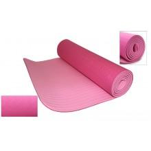 Коврик для фитнеса Yoga mat 2-х слойный TPE+TC 6мм FI-3046-7 (1,83мx0,61мx6мм)