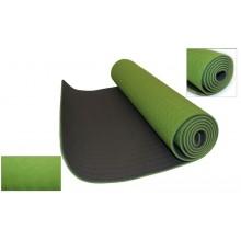 Коврик для фитнеса Yoga mat 2-х слойный TPE+TC 6мм FI-3046-9 (1,83мx0,61мx6мм)