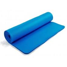 Коврик для фитнеса, каремат NBR 10мм с фиксирующей резинкой FI-3357 (р-р 1,83мх0,8мх10мм)