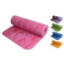 Коврик для фитнеса Yoga mat 1-слойный PER 8мм мультиколор FI-4936 (1,83м x 0,61м x 8мм)