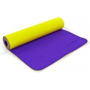 Коврик для фитнеса Yoga mat 2-х слойный TPE+TC 6мм ZEL FI-5172-11 (1,73мx0,61мx6мм)