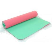 Коврик для фитнеса Yoga mat 2-х слойный TPE+TC 6мм ZEL FI-5172-13 (1,73мx0,61мx6мм)