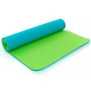 Коврик для фитнеса Yoga mat 2-х слойный TPE+TC 6мм ZEL FI-5172-16 (1,73мx0,61мx6мм)