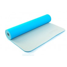 Коврик для фитнеса Yoga mat 2-х слойный TPE+TC 6мм ZEL FI-5172-2 (1,73мx0,61мx6мм)