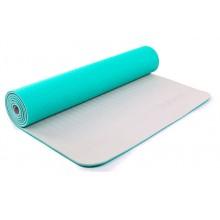 Коврик для фитнеса Yoga mat 2-х слойный TPE+TC 6мм ZEL FI-5172-3 (1,73мx0,61мx6мм)