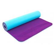 Коврик для фитнеса Yoga mat 2-х слойный TPE+TC 6мм ZEL FI-5172-4 (1,73мx0,61мx6мм)