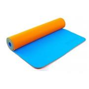 Коврик для фитнеса Yoga mat 2-х слойный TPE+TC 6мм ZEL FI-5172-5 (1,73мx0,61мx6мм)