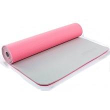 Коврик для фитнеса Yoga mat 2-х слойный TPE+TC 6мм ZEL FI-5172-6 (1,73мx0,61мx6мм)