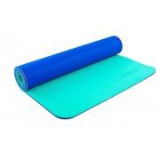 Коврик для фитнеса Yoga mat 2-х слойный TPE+TC 6мм ZEL FI-5172-8 (1,73мx0,61мx6мм)