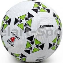 Мяч для футбола Lanhua Green (размер 4, для игры на асфальте)