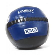 Мяч для кроссфита 35 см. LiveUp Wall Ball (синий)