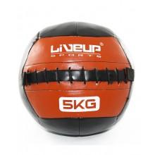 Мяч для кроссфита 30 см. LiveUp Wall Ball (красный)